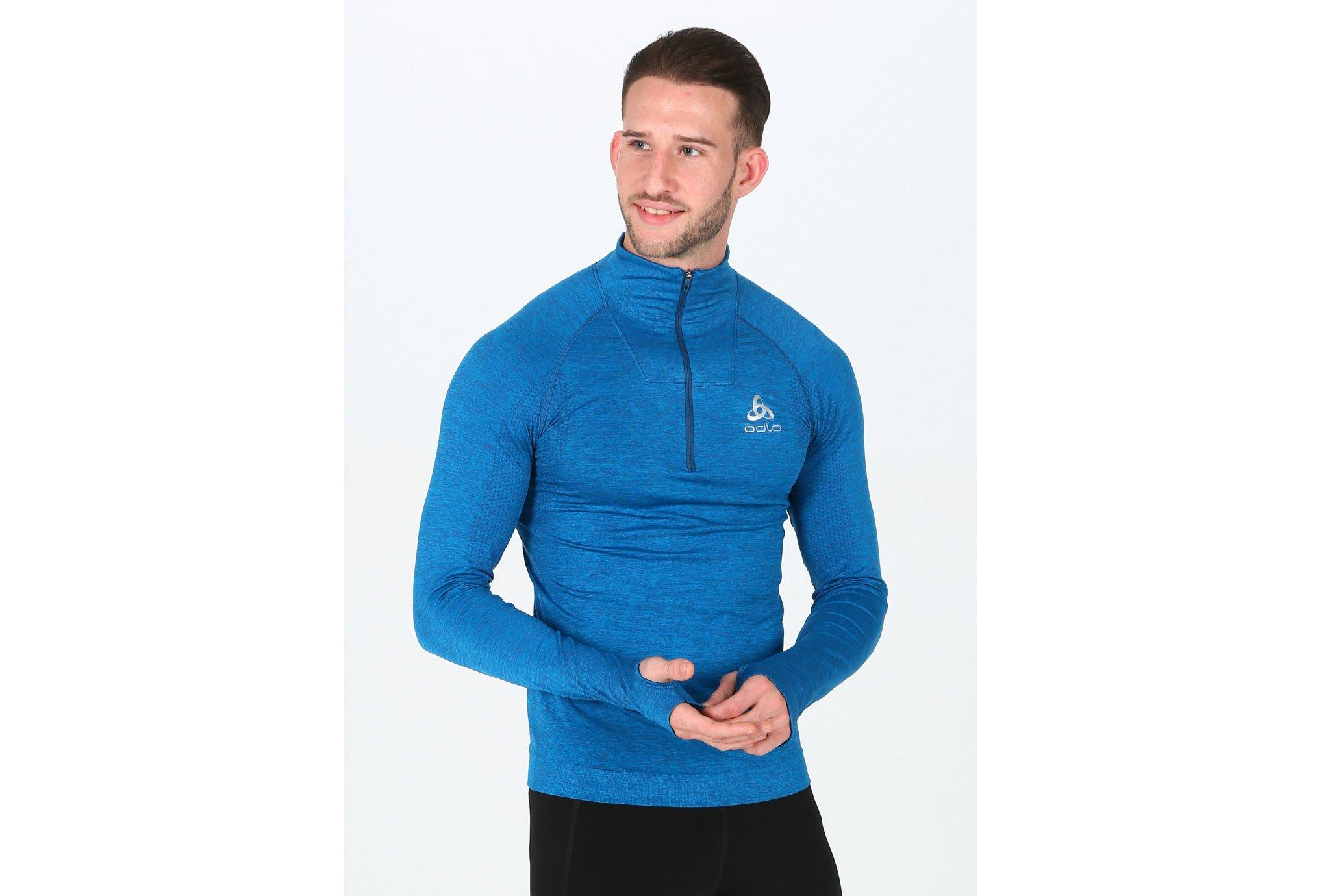 Odlo Irbis Warm 1/2 zip M Diététique Vêtements homme
