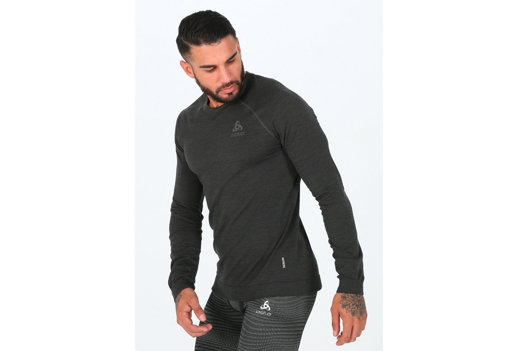 Odlo Millennium Yakwarm M vêtement running homme