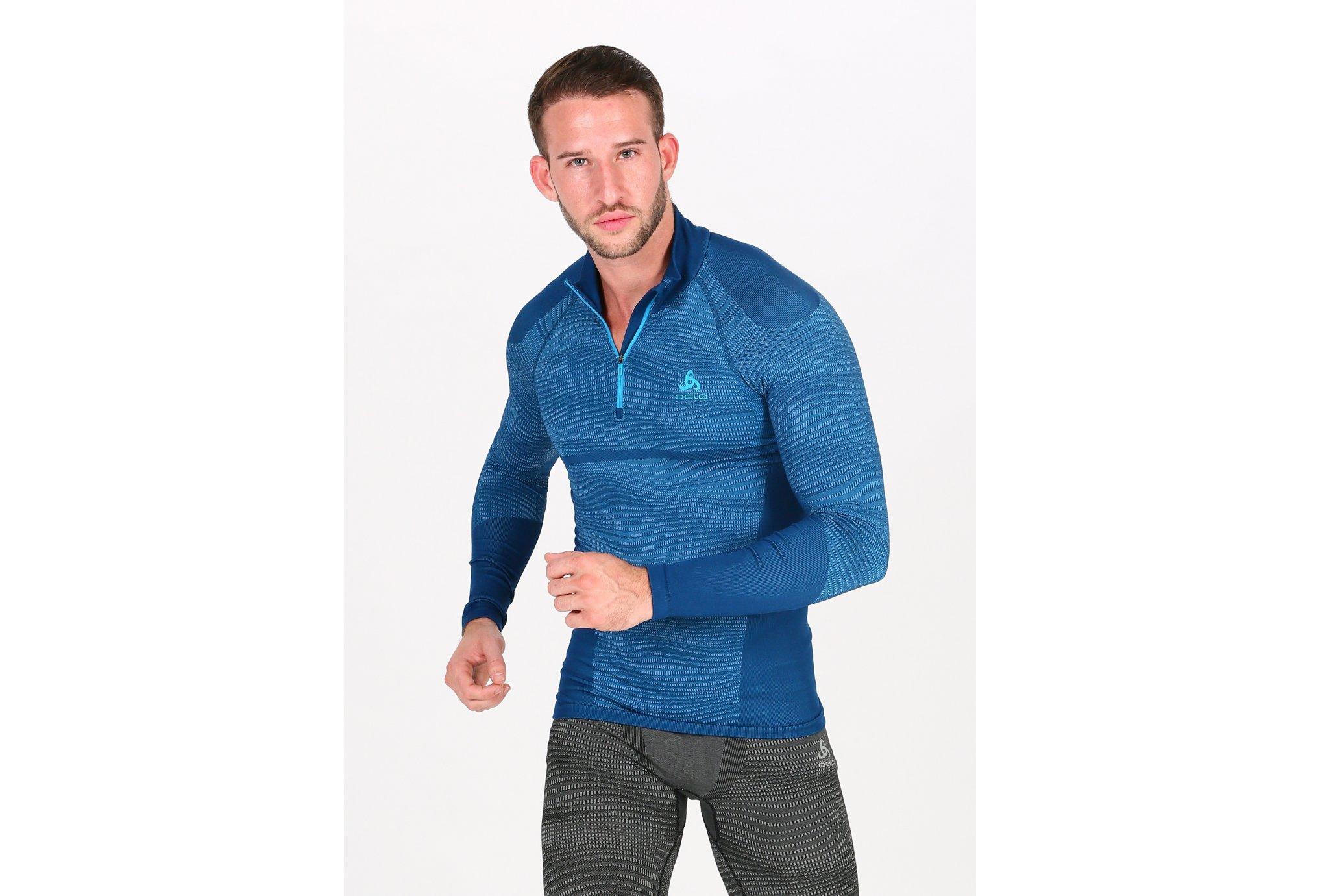 Odlo Performance Blackcomb 1/2 zip M Diététique Vêtements homme
