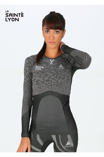 Odlo camiseta manga larga Performance Blackcomb SaintéLyon