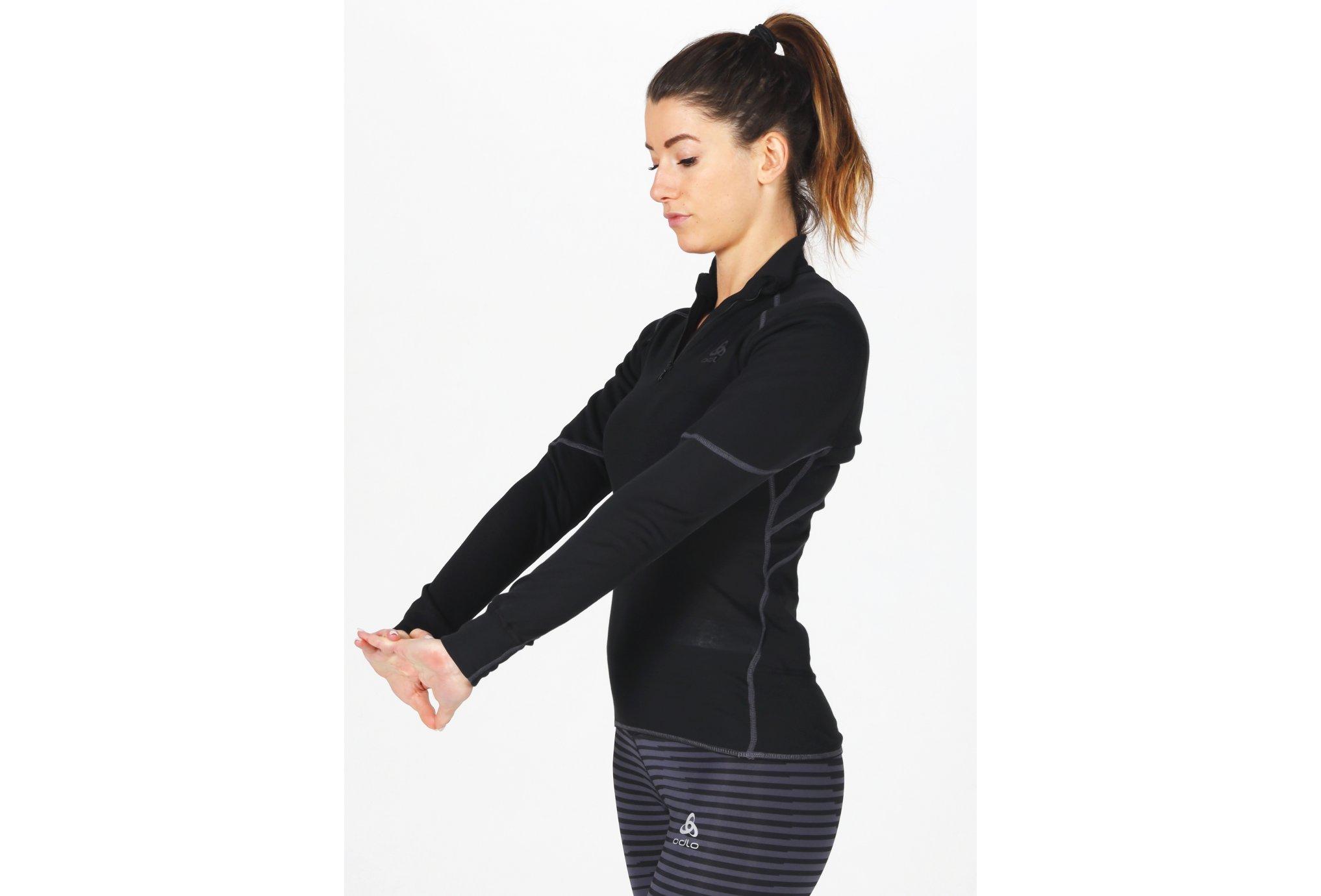 Odlo X-Warm 1/2 zip W vêtement running femme