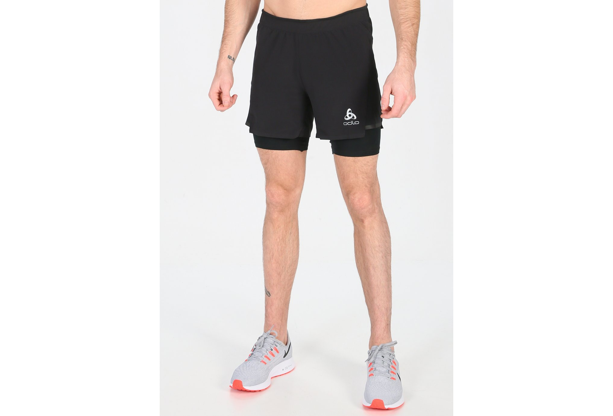 Odlo Zeroweight Ceramicool Pro 2en1 M vêtement running homme