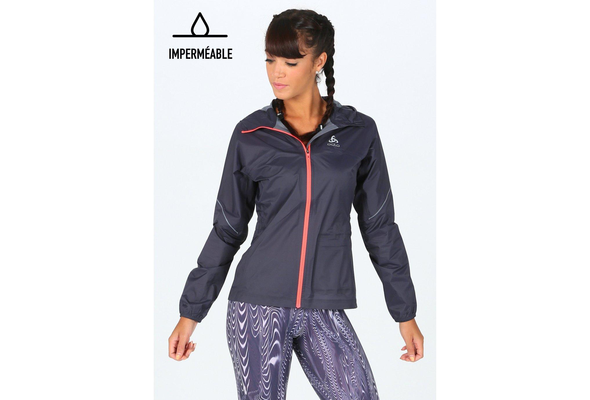 Odlo Zeroweight Rain Warm W vêtement running femme