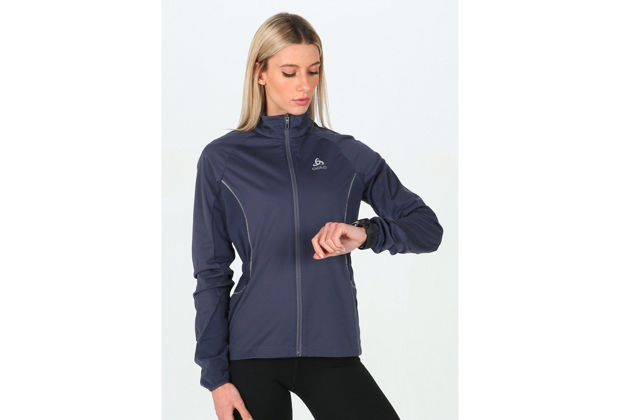 Odlo ZeroWeight Windproof Reflect Warm W vêtement running femme