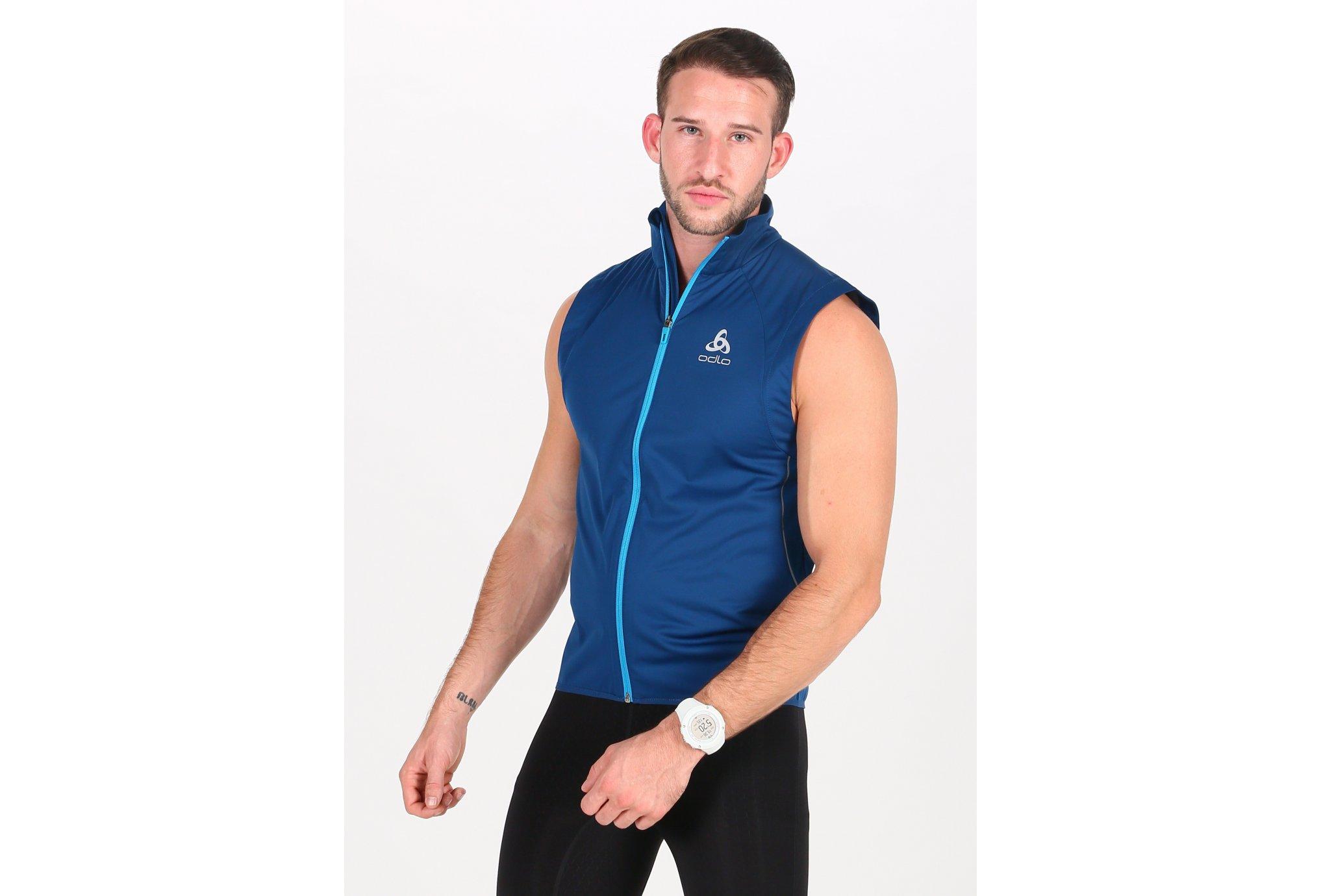 Odlo ZeroWeight Windproof Warm M vêtement running homme