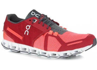 686a09ac090a83 On-Running Cloud M homme Rouge pas cher