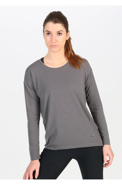 On-Running camiseta manga larga Comfort-T