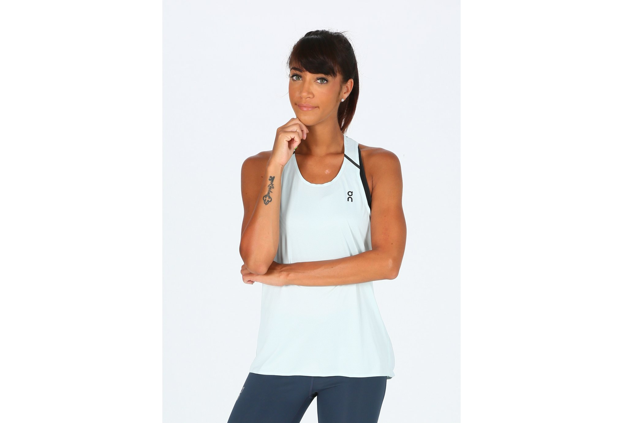 On-Running Tank-T W vêtement running femme