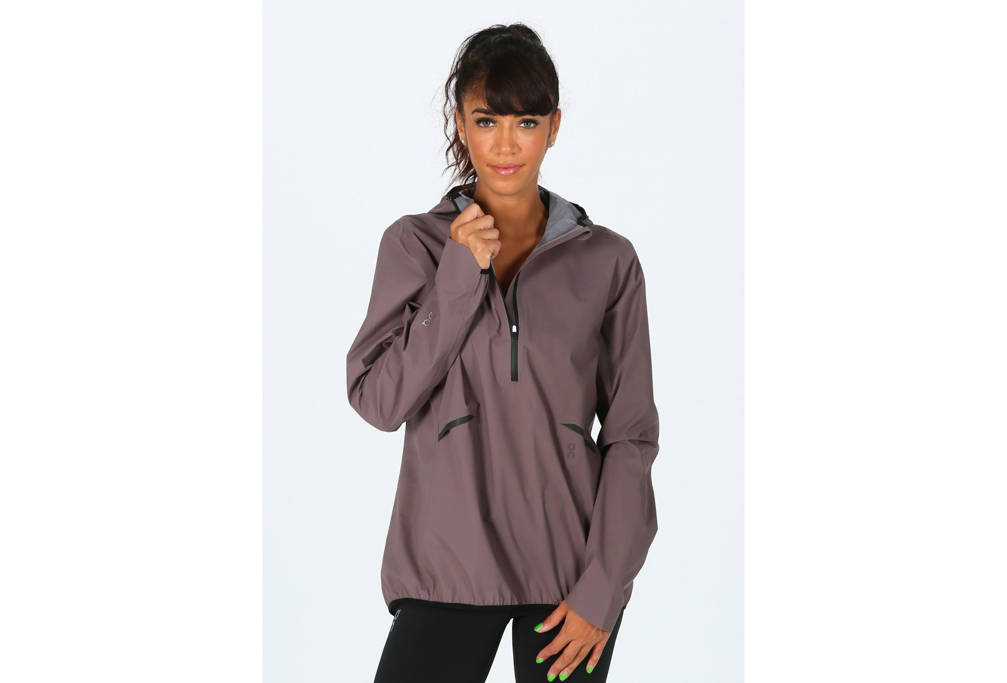 On-Running Waterproof Anorak W vêtement running femme