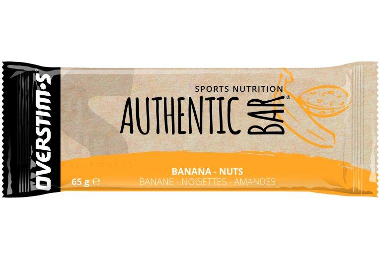 OVERSTIMS Authentic Bar - Banane/noisettes/amandes