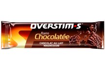 OVERSTIMS Barre Chocolatée Magnésium - Chocolat au lait