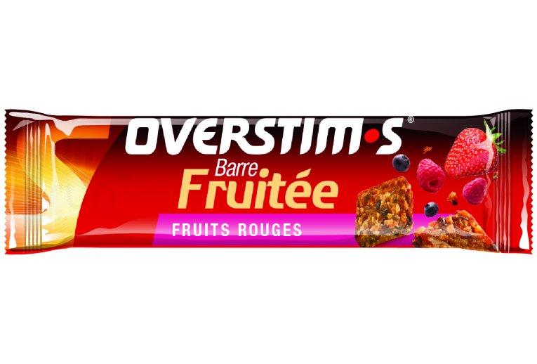 OVERSTIMS Barre Fruitée - Fruits rouges