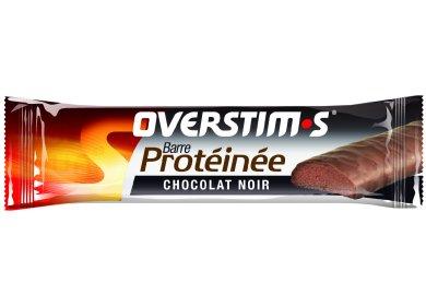 OVERSTIMS Barre Protéinée - chocolat noir