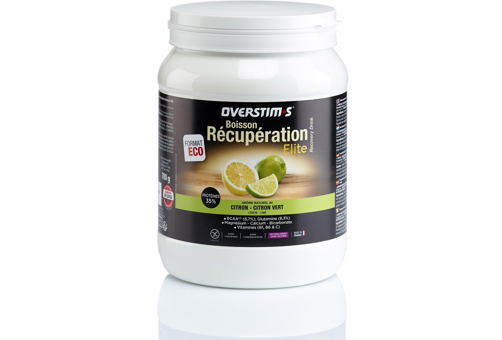 OVERSTIMS Boisson Récupération Élite 780g - Citron/citron vert Diététique Protéines / récupération