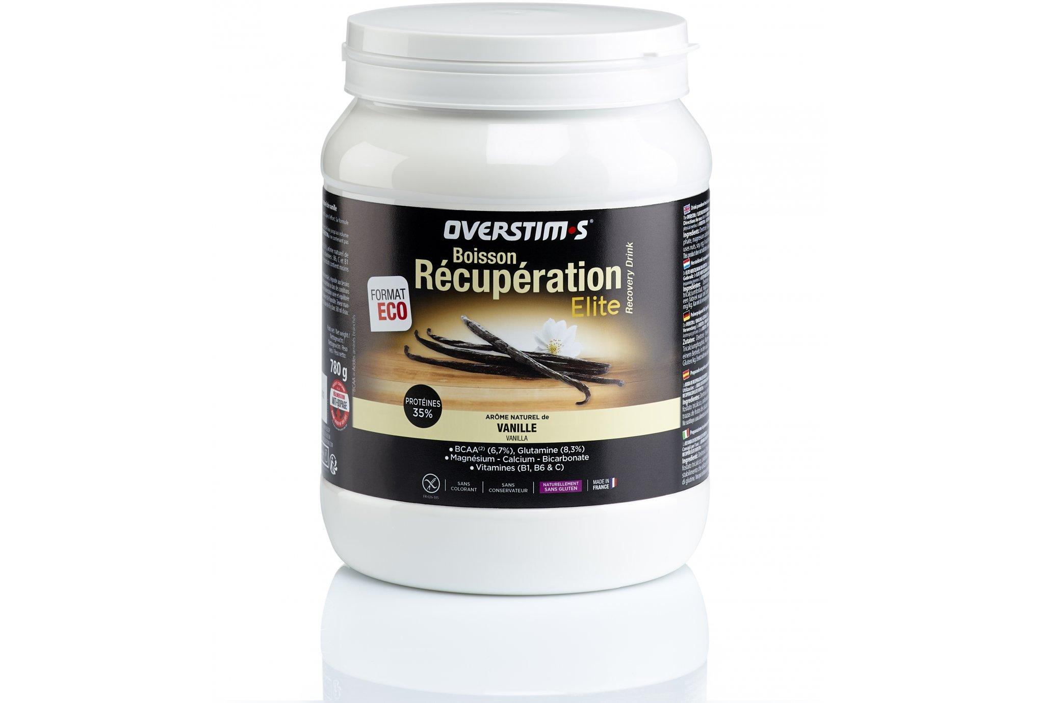 OVERSTIMS Boisson Récupération Élite 780g - Vanille Diététique Protéines / récupération