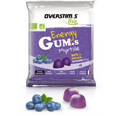 OVERSTIMS Energy Gum.s Bio - Myrtille