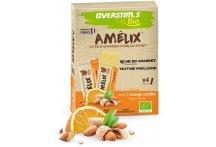 OVERSTIMS Étui 4 pâtes d'amandes Amélix Bio - Orange confite