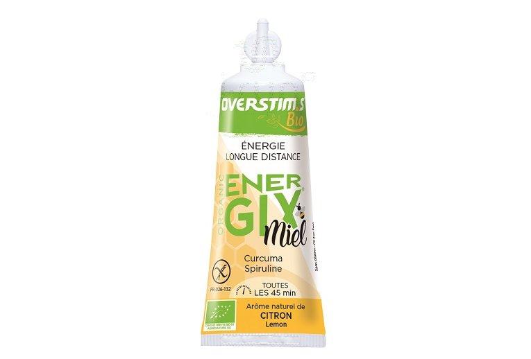 OVERSTIMS Gel Énergétique Endurance Energix Miel Bio - Citron