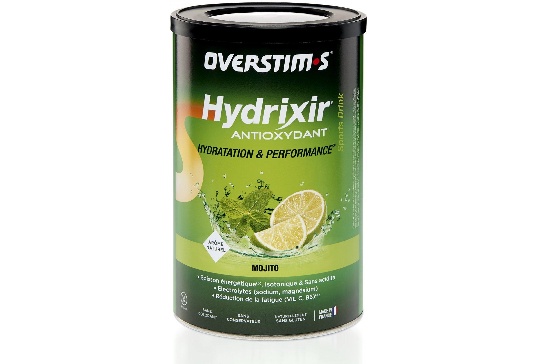OVERSTIMS Hydrixir 600g - Mojito Diététique Boissons