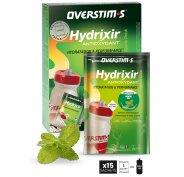 OVERSTIMS Hydrixir 15 sachets - Menthe