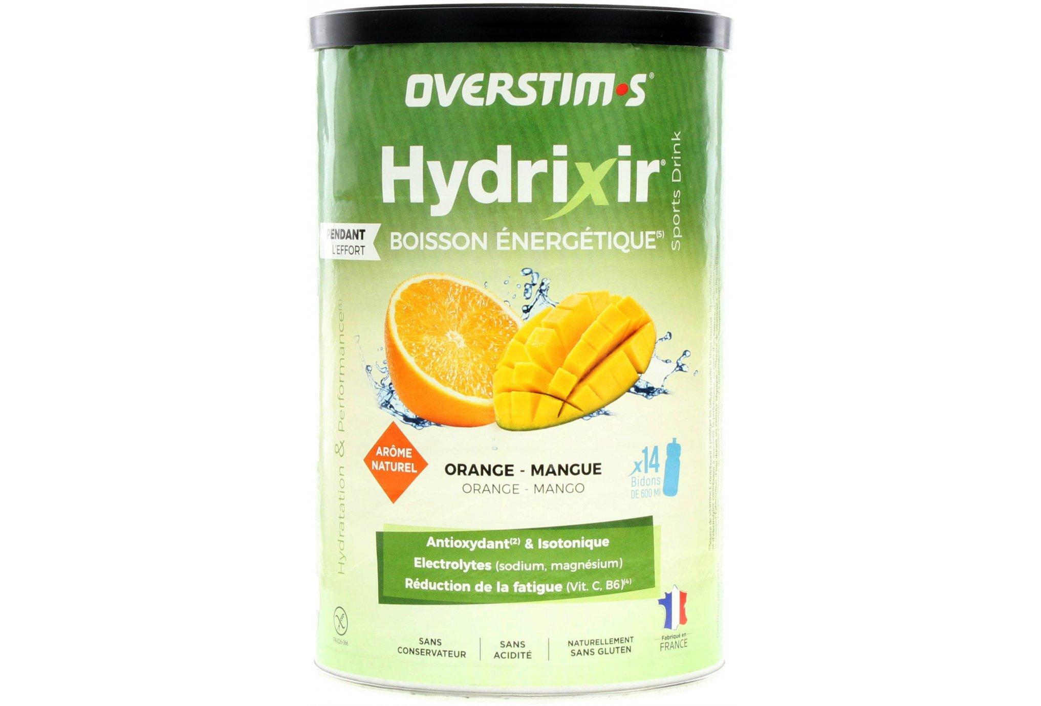 OVERSTIMS Hydrixir 600 g - Orange/mangue Diététique Boissons