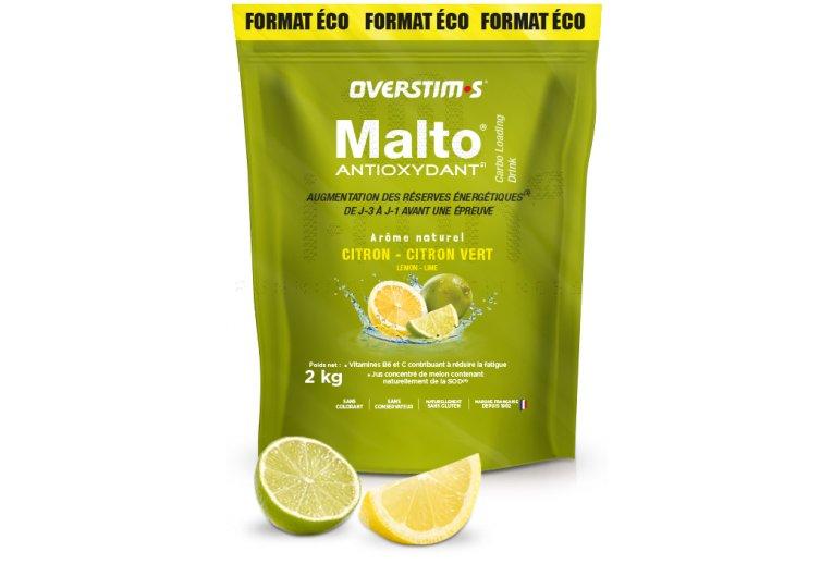 OVERSTIMS Malto Antioxydant 2 kg - Citron/citron vert
