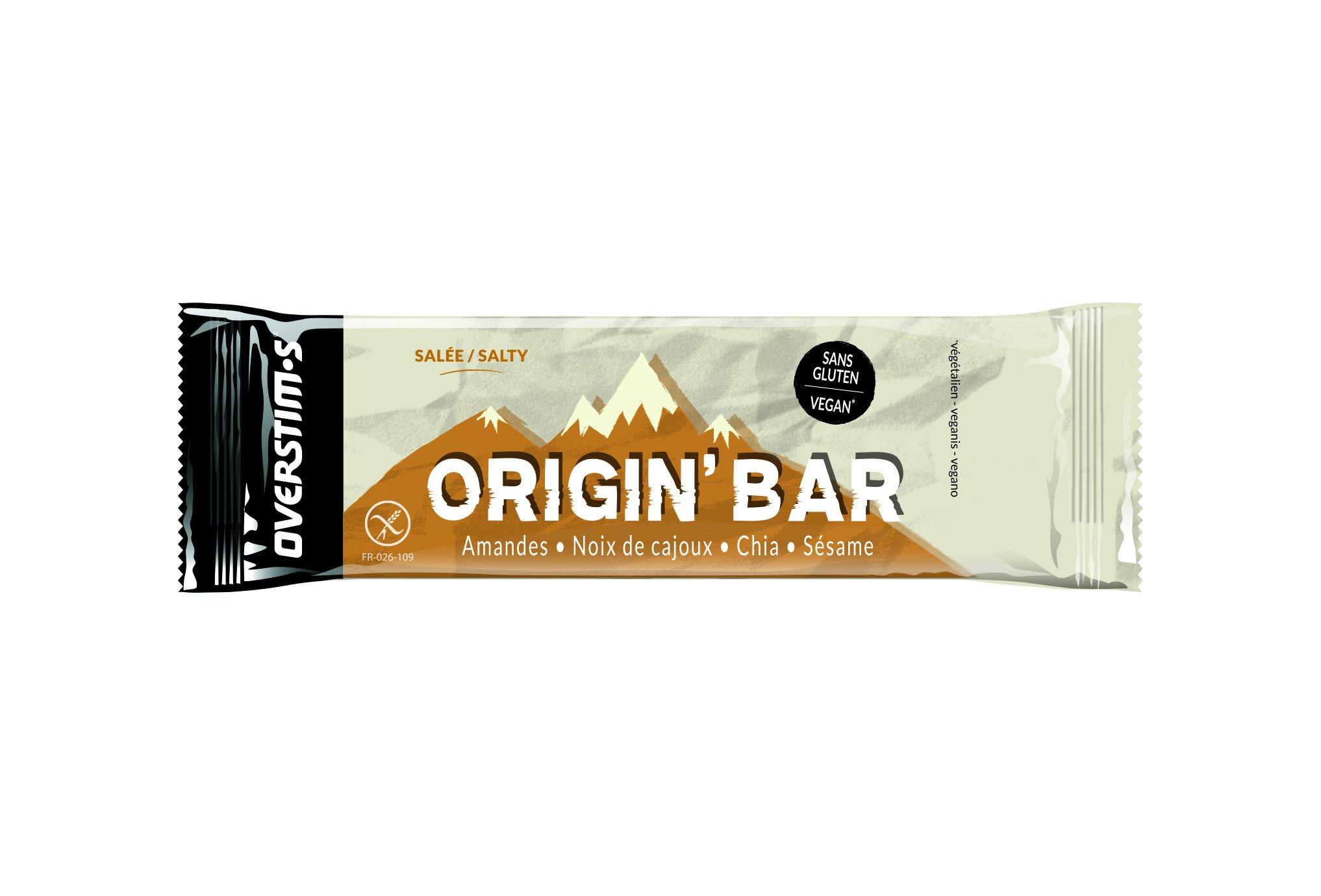OVERSTIMS Origin Bar Salé Diététique Barres