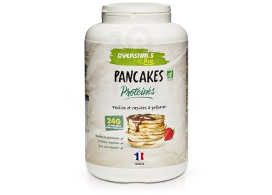 OVERSTIMS Pancakes Protéinés Bio 900 g  - Nature