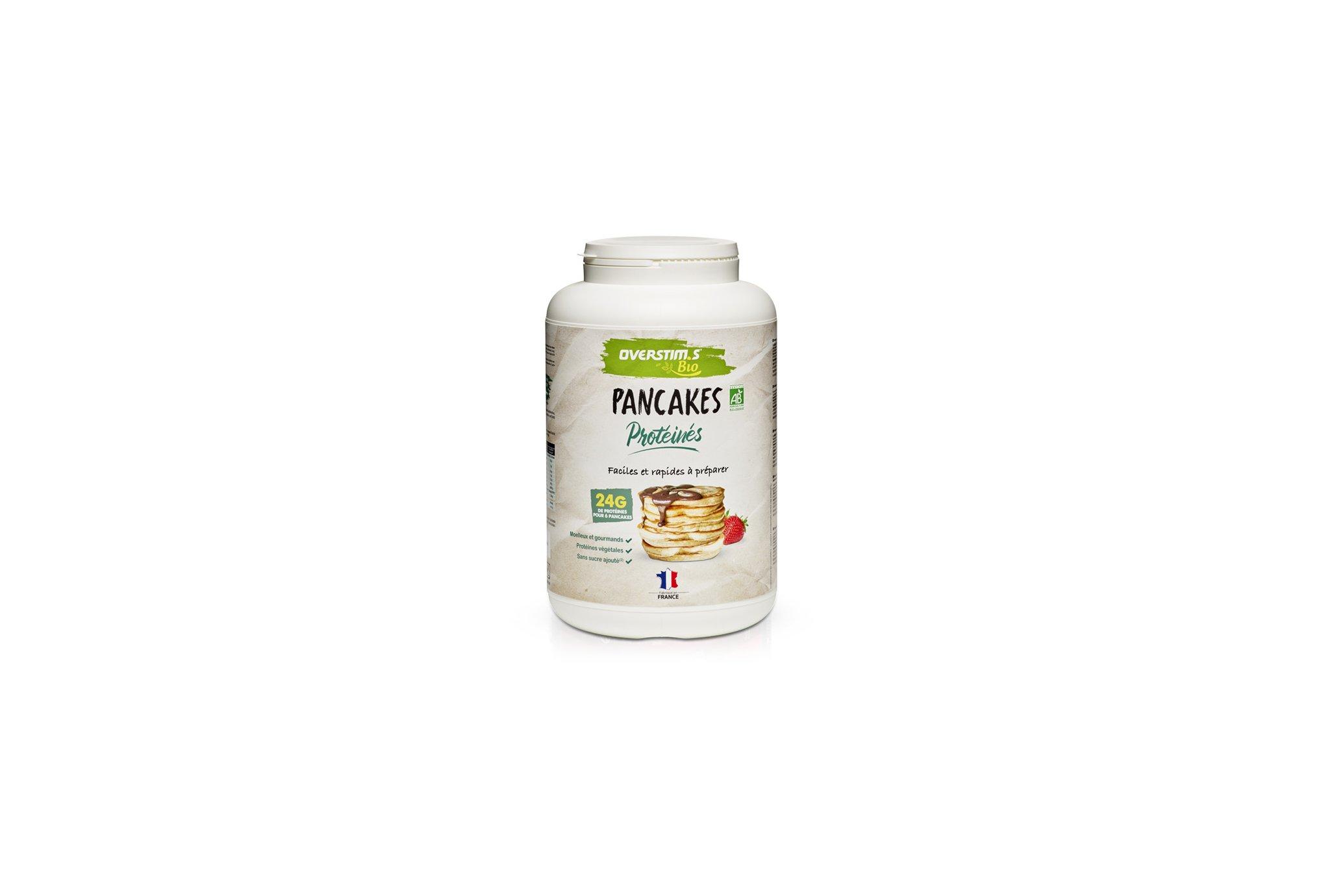 OVERSTIMS Pancakes Protéinés Bio 900 g - Nature Diététique Préparation