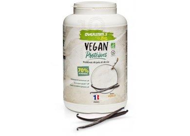 OVERSTIMS Vegan Protéines Bio 700 g - Vanille