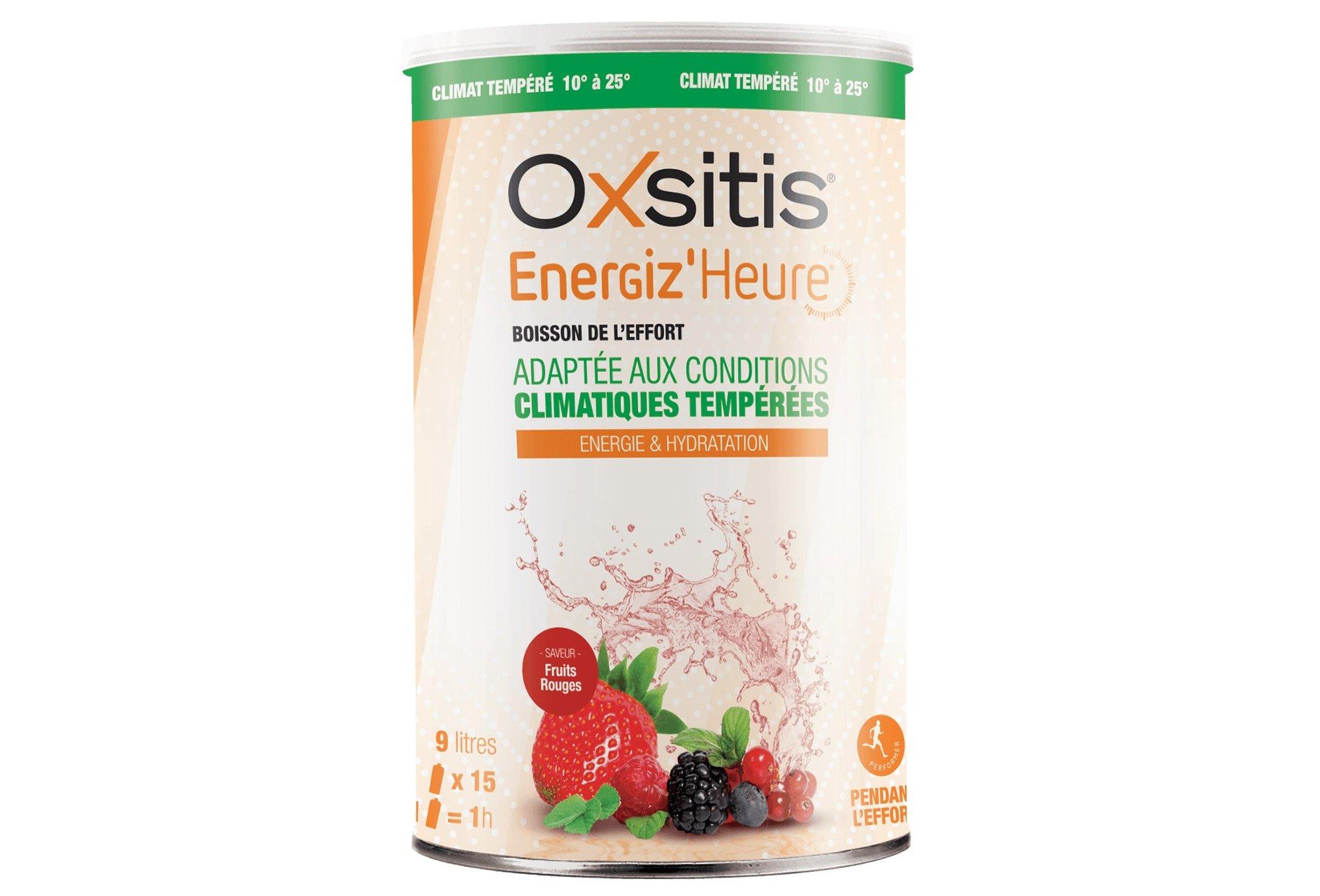 Oxsitis Boisson Energiz'Heure Climat Tempéré - Fruits Rouges Diététique Boissons