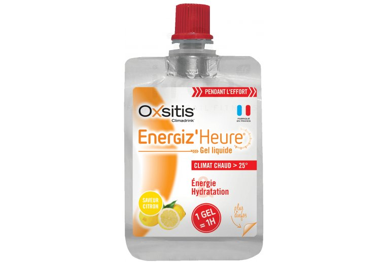 Oxsitis Gel Energiz'Heure Climat Chaud - Citron