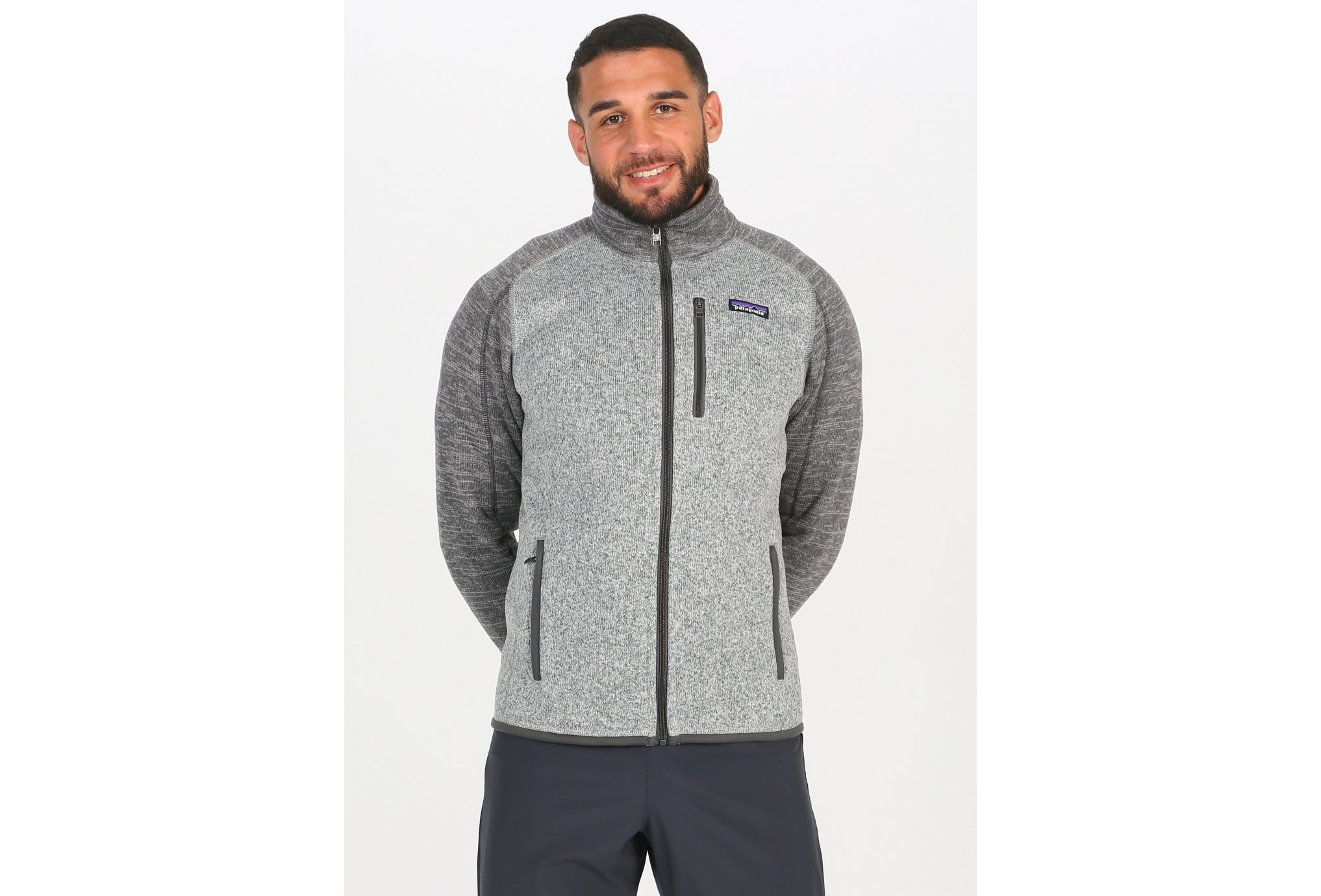 Patagonia Better Sweater M vêtement running homme