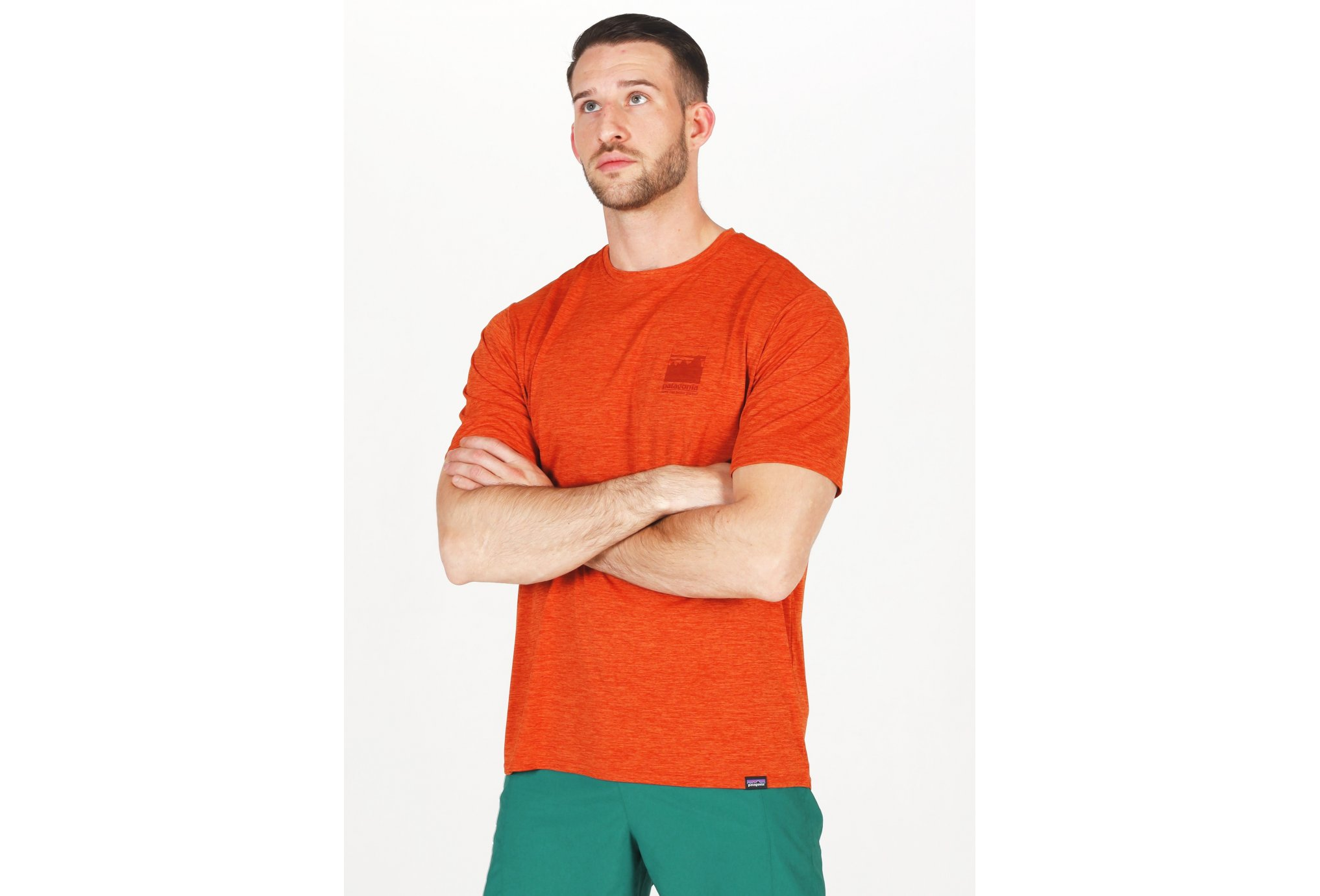 Patagonia Capilene Cool Daily Graphic M vêtement running homme