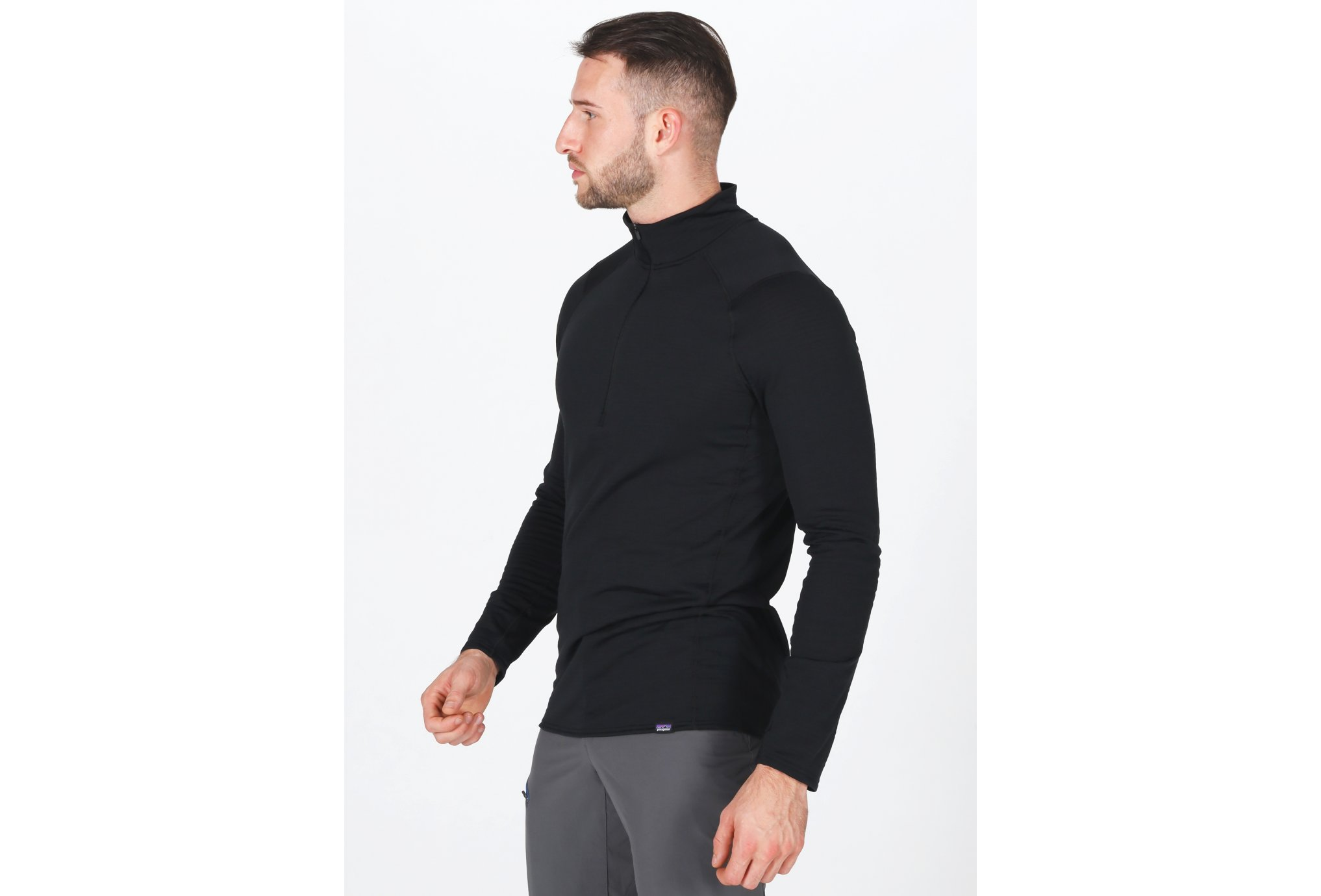 Patagonia Capilene Thermal Weight Zip-Neck M vêtement running homme