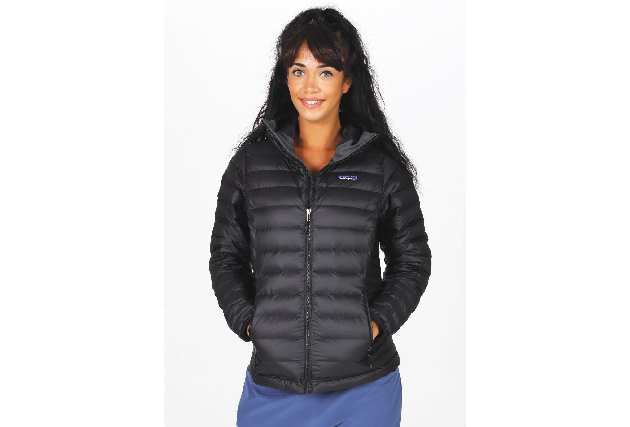 Patagonia Down Sweater Hoody W vêtement running femme