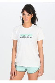 Patagonia Pastel P-6 Logo Organic Cotton Crew W