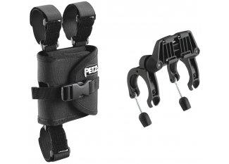Petzl Fijación Ultra para manillar de bicicleta