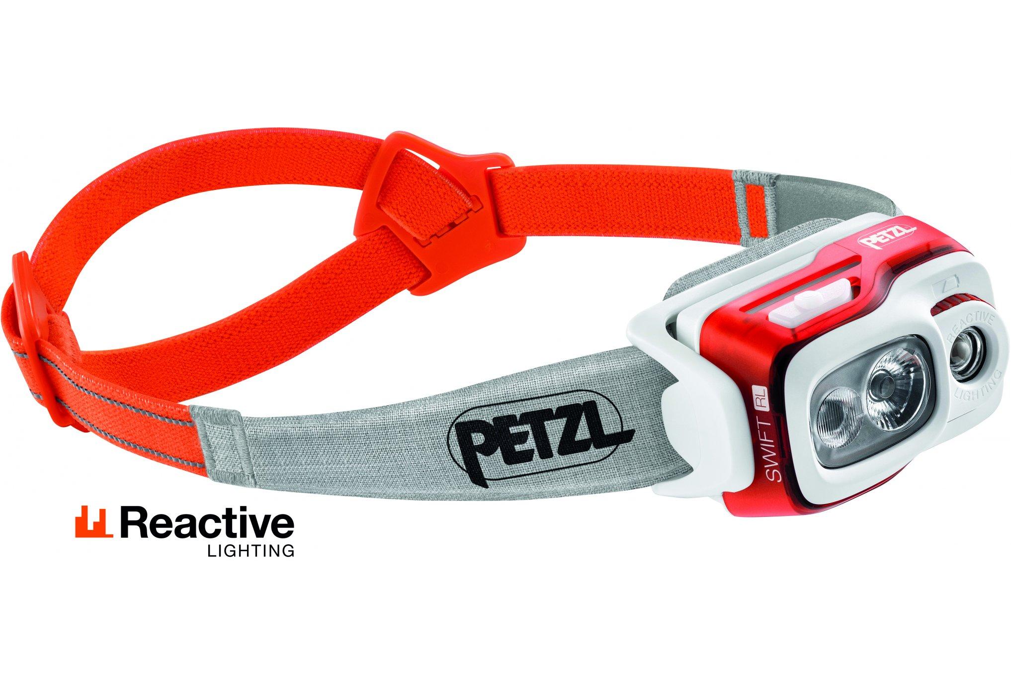 Petzl Swift RL - 900 lumens Lampe frontale / éclairage