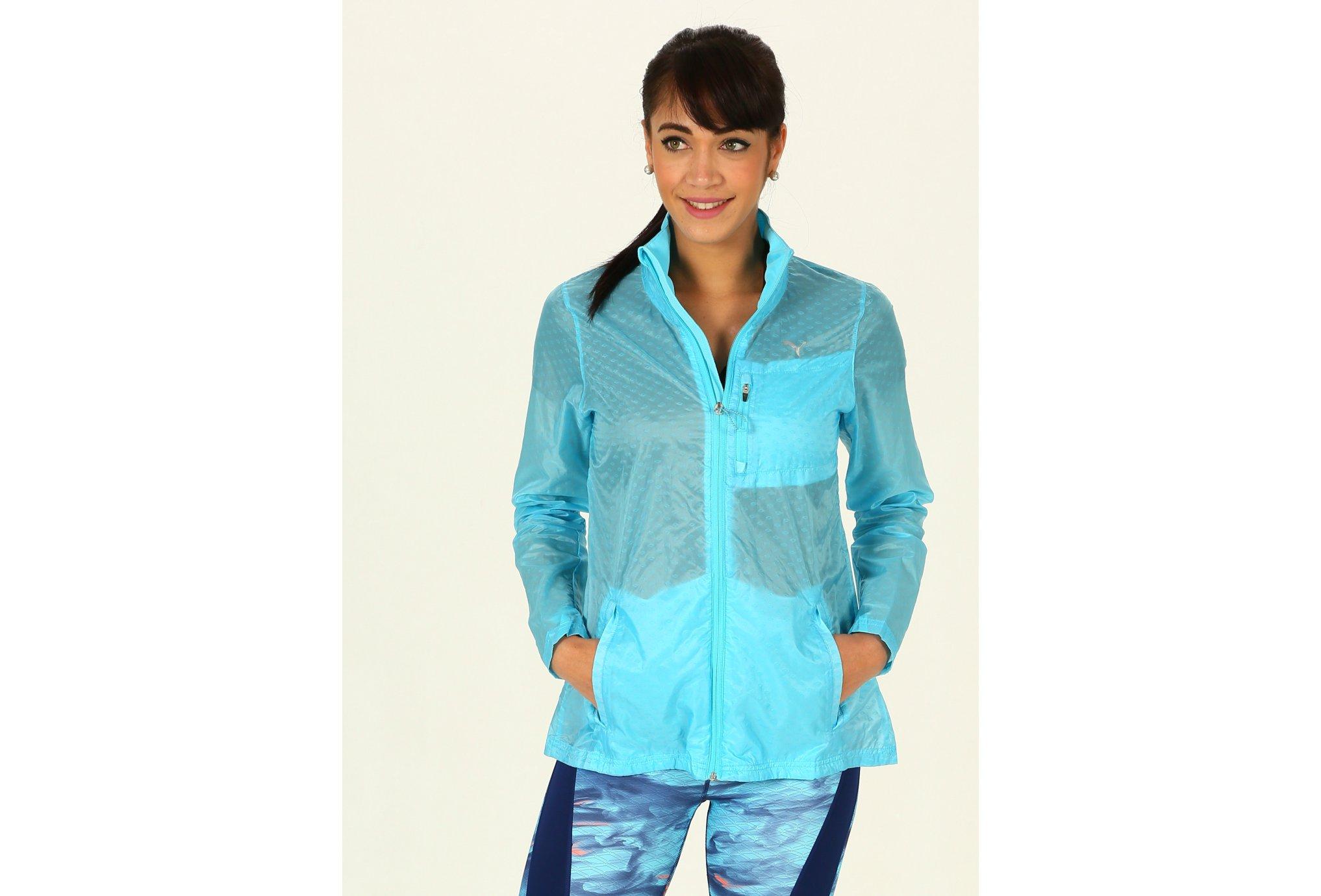 Puma Lite Jacket W vêtement running femme