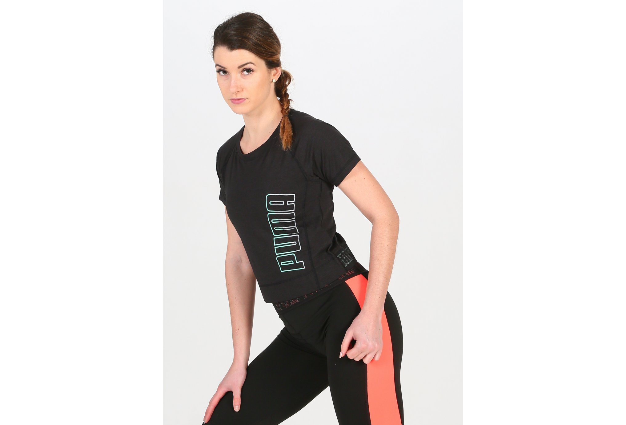 Puma Logo Elastic W vêtement running femme