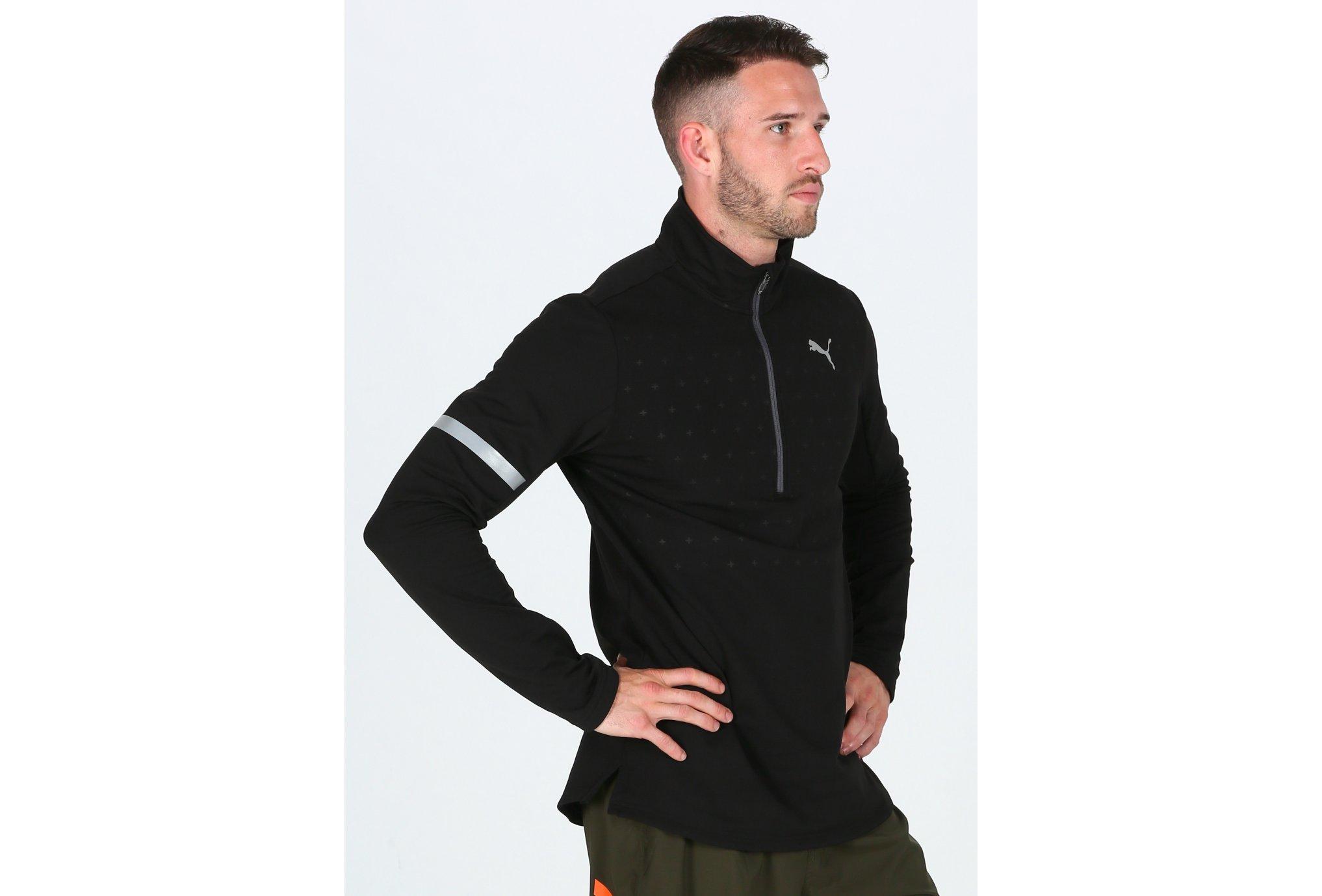 Puma Pace Midlayer M Diététique Vêtements homme
