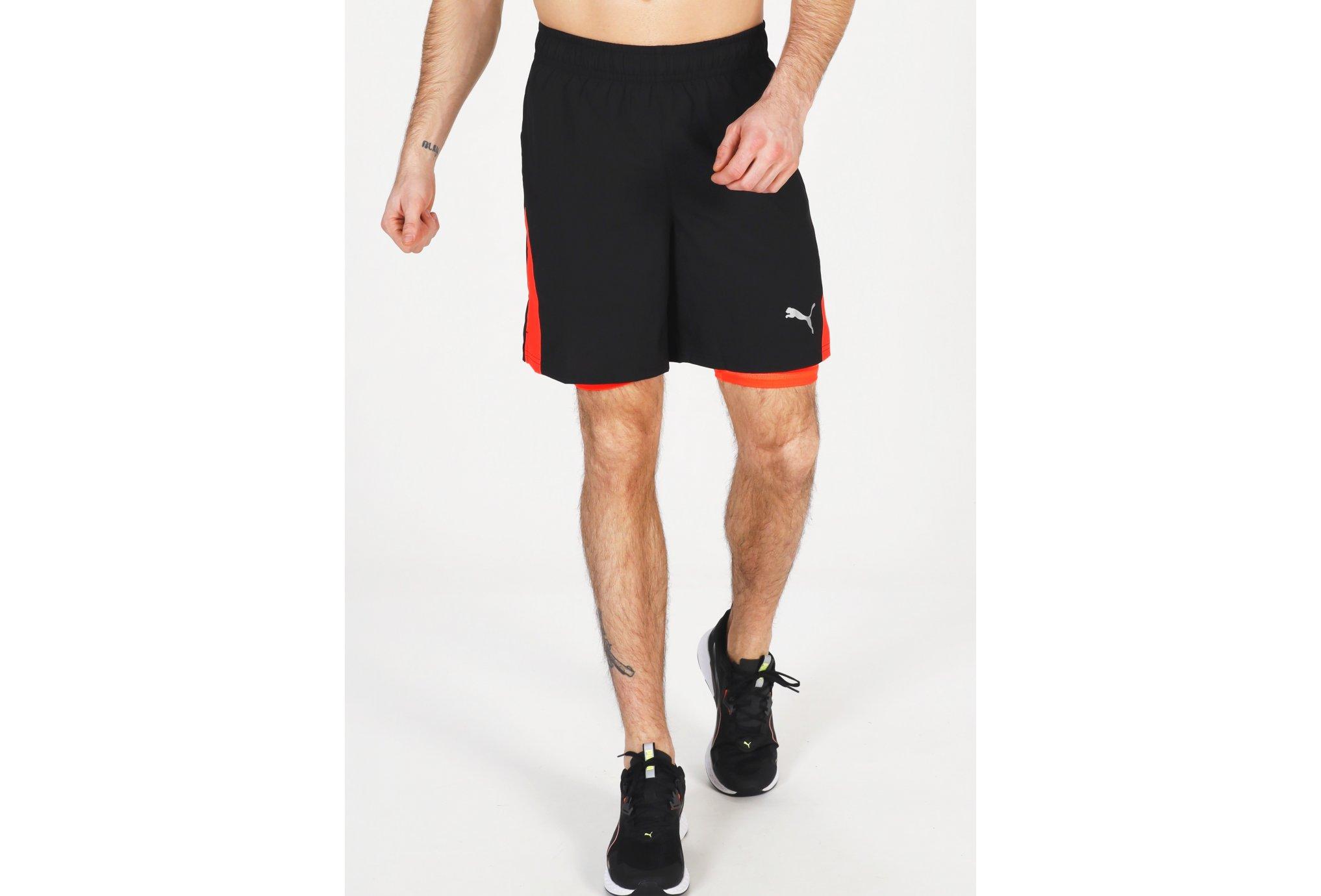 Puma Run Favorite 2 en 1 M Diététique Vêtements homme