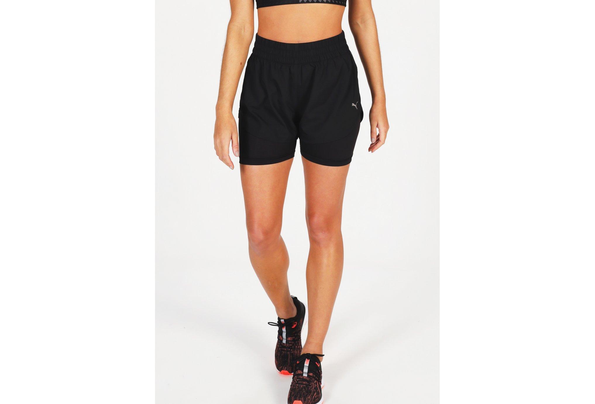 Puma Run Favorite 2 en 1 W Diététique Vêtements femme