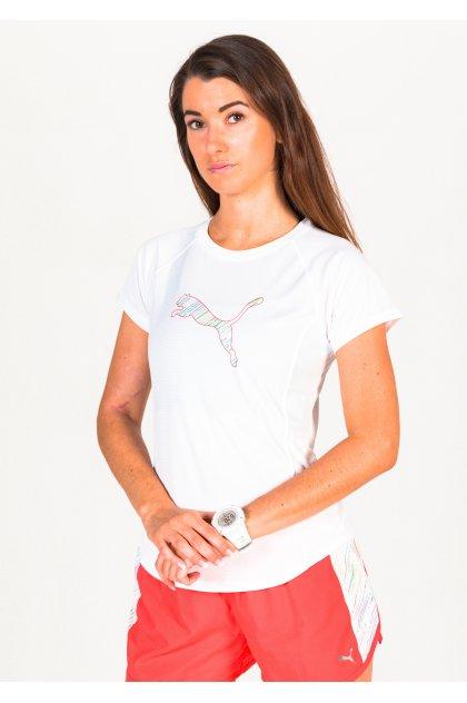 Puma camiseta manga corta Run Logo