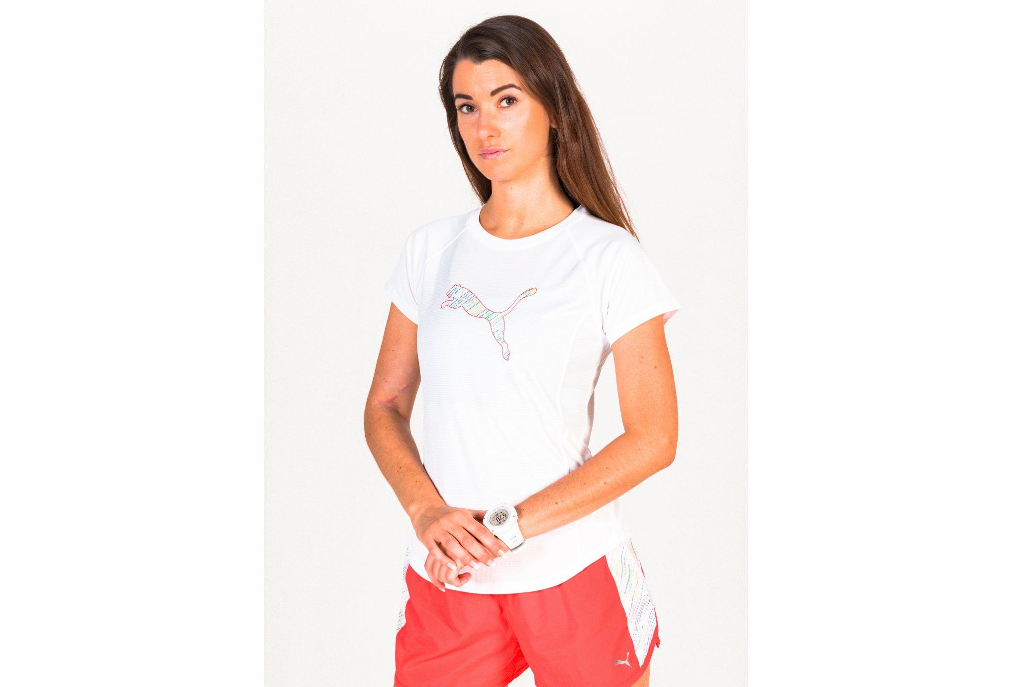 Puma Run Logo W vêtement running femme