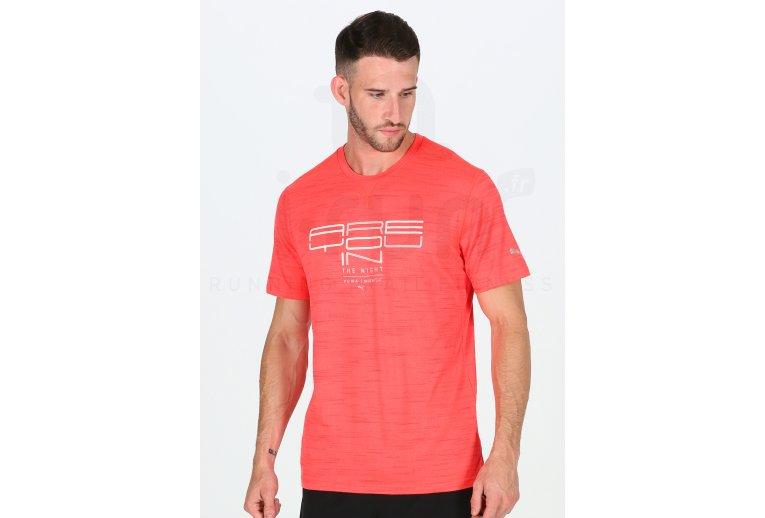 Puma Camiseta manga corta Running NightCat