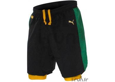 68255f98ca Puma Short Faas 2 en 1 Jamaïca M homme pas cher