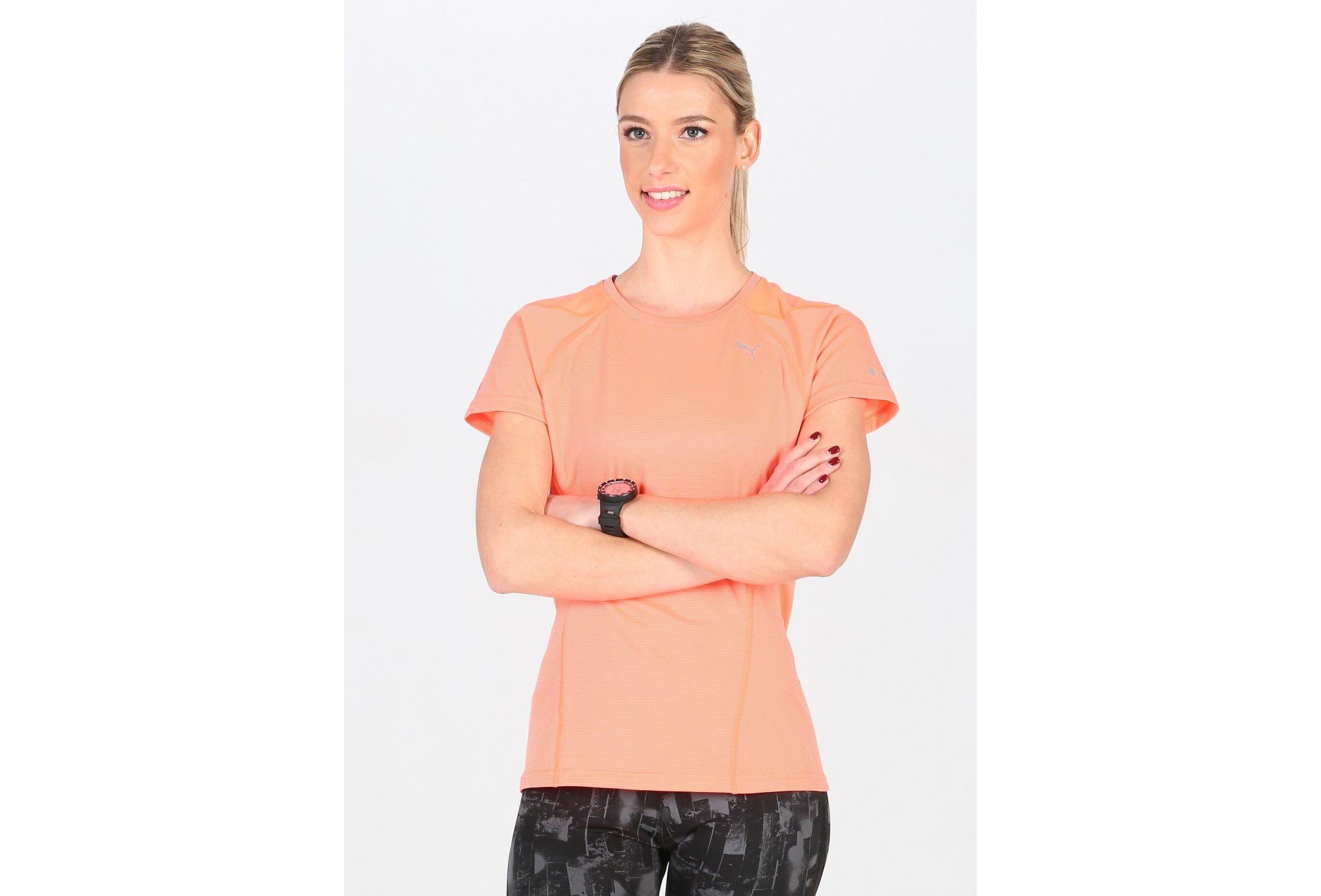Puma Tee-shirt Faster Than You W vêtement running femme
