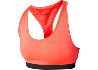 Reebok Brassière Sport Essential pas cher - Vêtements femme running ... aa5a8835a470